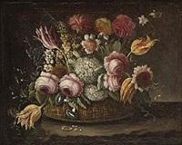 blomsterkorg by bartholomeus assteyn
