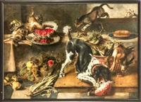monumentales stillleben mit tieren by paul de vos