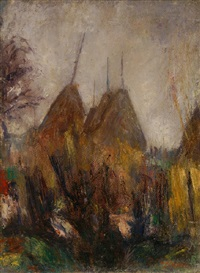 paesaggio by pietro bugiani