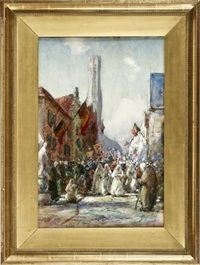 the procession by thomas william morley