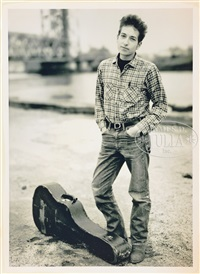 bob dylan by richard avedon