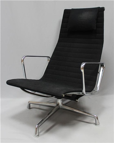 Loungesessel  Lounge-Sessel EA 124 by Charles and Ray Eames on artnet
