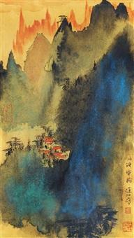 山水 by liu dajiang