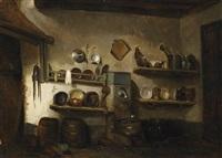 interieur einer schloßküche by charles meer webb