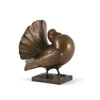 pigeon ramier by edouard marcel sandoz
