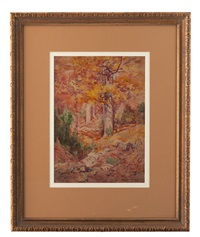 a bit of autumn, corydon, indiana by william forsyth