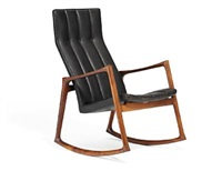 rocking chair by helge vestergaard jensen