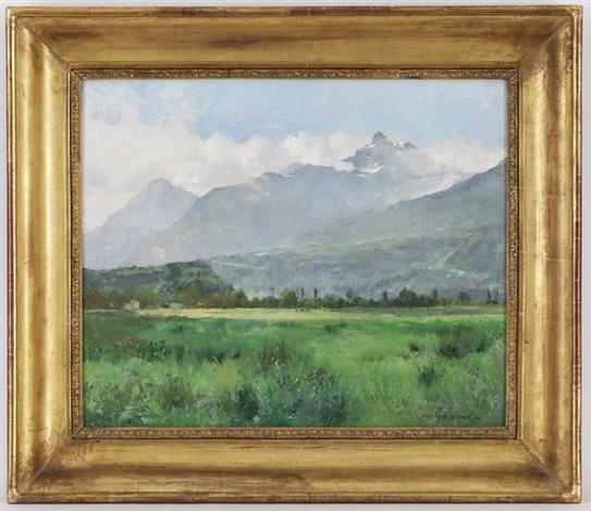 paysage de campagne by julien dupré