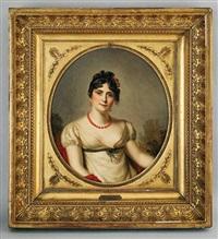 portrait de l'impératrice joséphine by firmin massot