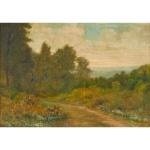 landscape with trail by william sartain