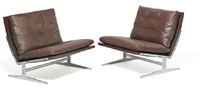 two seater sofa and a pair of easy chairs (model bo-561 and bo-562) (set of 3) by preben fabricius