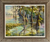 bayou desiard, monroe, louisiana by amos lee armstrong