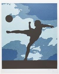 the football player by vik muniz