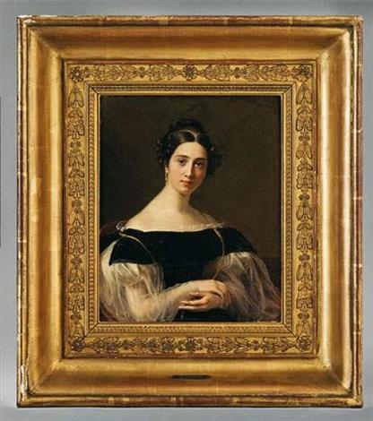 portrait damélie marcet bouthillier de beaumont by firmin massot