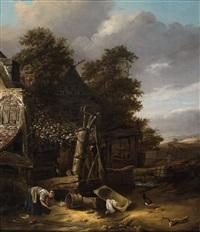 landscape with a cottage by cornelis gerritsz decker