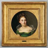 portrait de mademoiselle schenker by firmin massot