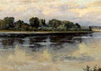 russian river by andrei timofeevich sashin