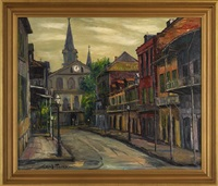 orleans street, new orleans by carl m. thorp