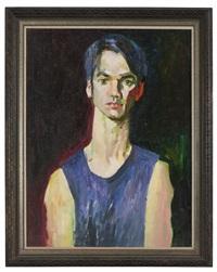 chang, portrait of a man by rod goebel