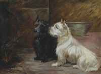two terriers by lilian cheviot