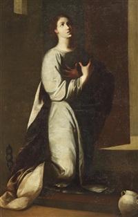saint rufina by sebastian de llanos valdes