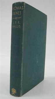 thomas bains of king's lynn (bk by j.p.r. wallis w/2 sketches, 8vo) by john thomas baines