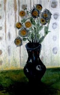 blumenstilleben in vase by onib olmedo