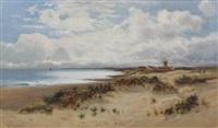 beach scene by d. sherrin