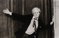 portrait of andy warhol by christopher makos