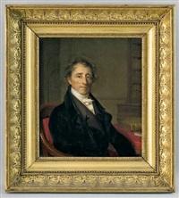 portrait de claude etienne françois nicole-moultou by firmin massot