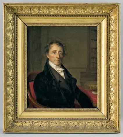 portrait de claude etienne françois nicole moultou by firmin massot