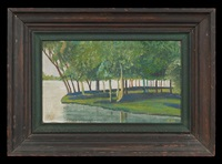 louisiana landscape, west feliciana parish by charles woodward hutson