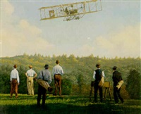 flight over del monte, 1911, 5 p.m. 12, world's first twin traction pilot by adriaan van hoften