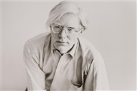 portrait of andy warhol (in 4 parts) by christopher makos