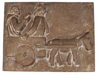 philippus und der eunuch aus äthiopien by fritz fleer