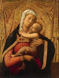 the virgin with child by filippo di tomaso (fra) lippi