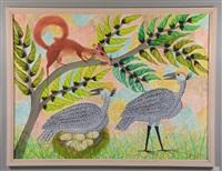 oiseaux et écureui by mulongoy pili pili