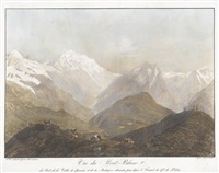 vue du mont-blanc, 3me by jean-philippe linck the younger
