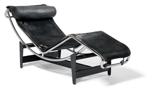 Chaise longue lc4 b306 model by le corbusier charlotte for Chaise longue b306