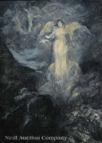 the angel of golgatha by douglas volk