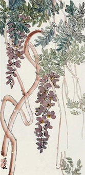 紫藤 by ling wenyuan