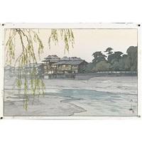 fujiyama from kawaguchi lake by hiroshi yoshida