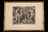 loth und seine töchter by lucas van leyden