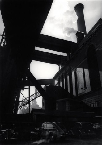 kraftwerk der consolidated edison by berenice abbott