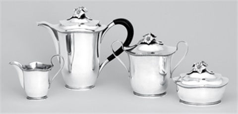 kaffeservis (set of 4) by eric rastrom