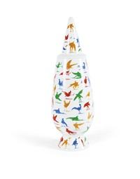 vaso tipo (disegnato da alessandro mendini) by milton glaser and alessandro mendini