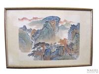 landschaftsmalerei by luo buzhen