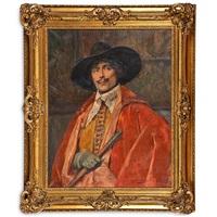 portrait of cavalier by alex de andreis