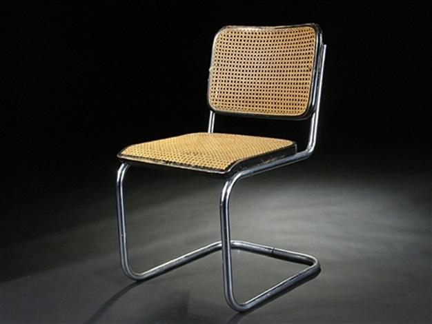 Freischwinger Stuhl By Marcel Breuer