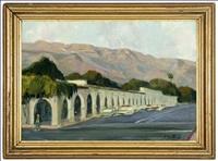 california promenade (ojai?) by ferdinand kaufmann